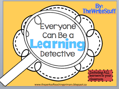 Self Assessment and Being a Learning Detective