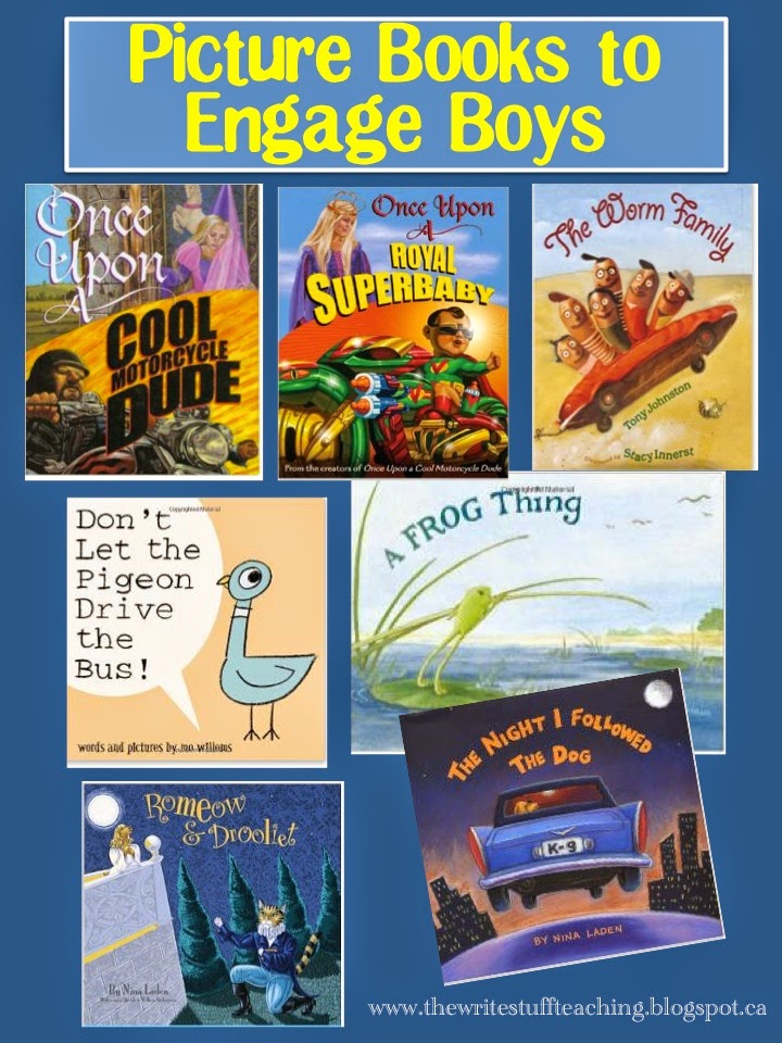 Best Picture Books to Engage Boys