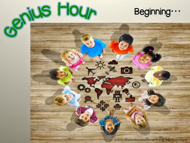 Genius Hour Beginning of the Year
