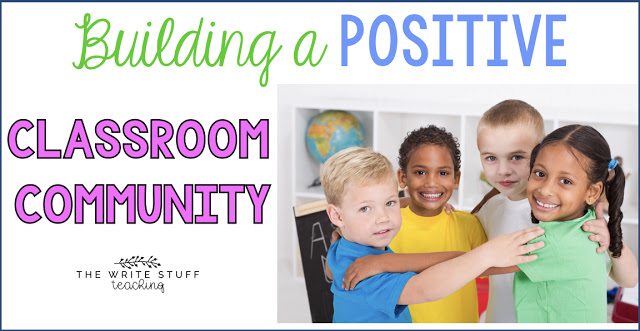 Positive Classroom Community Building