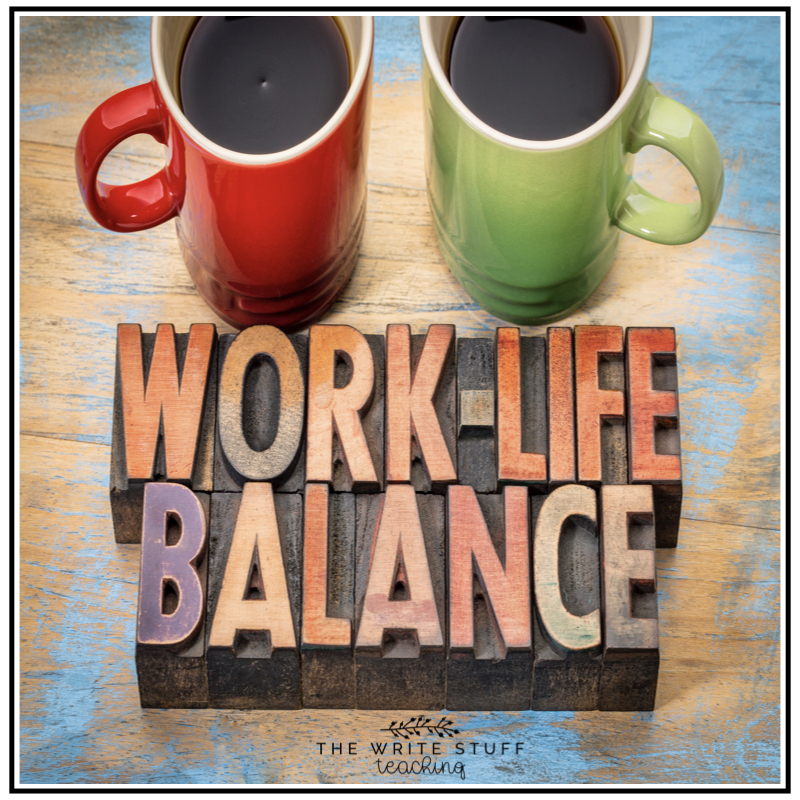 Work-Life Balance in Teaching