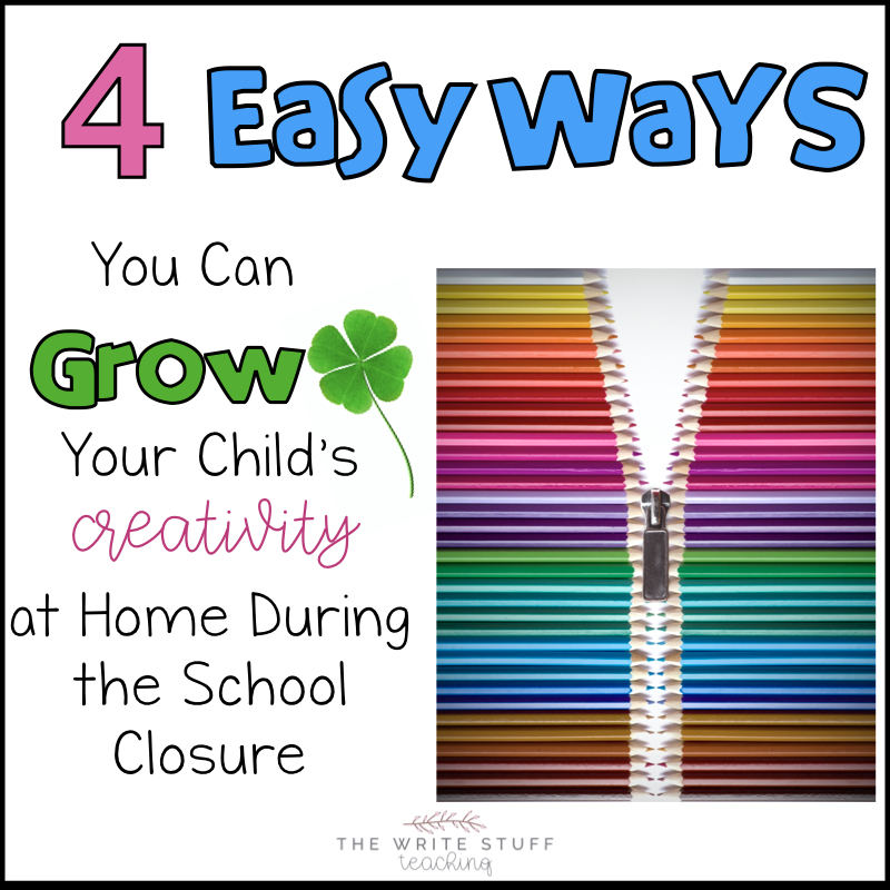4 Easy Ways to Develop Your Child's Creativity