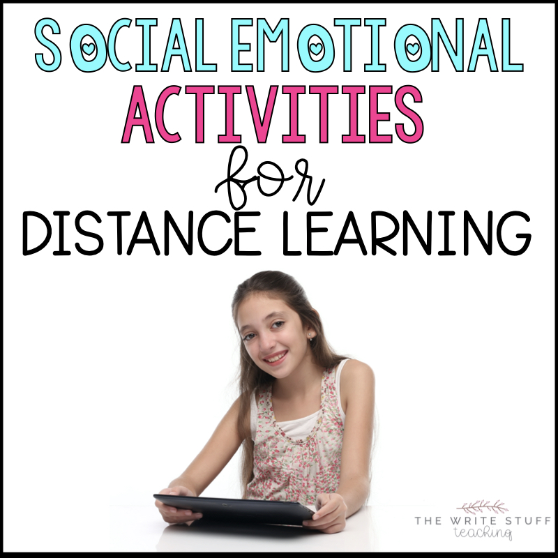 Social Emotional Activities Distance Learning