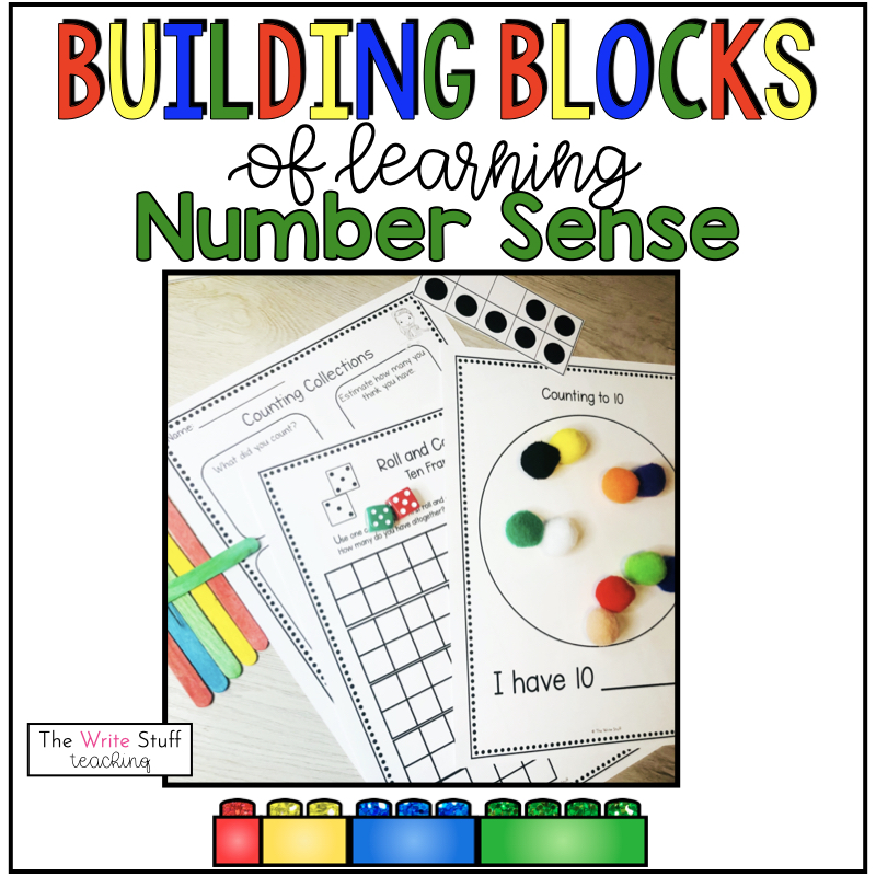 The Building Blocks of Number Sense